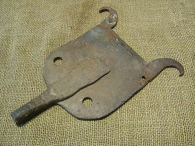 Vintage Hand Forged Iron Boot Scraper Antique Old Jack