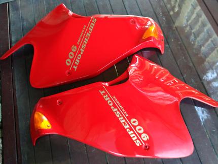Ducati 900ss fairings