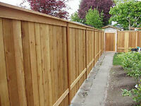 WOOD FENCE FOR BACK YARD