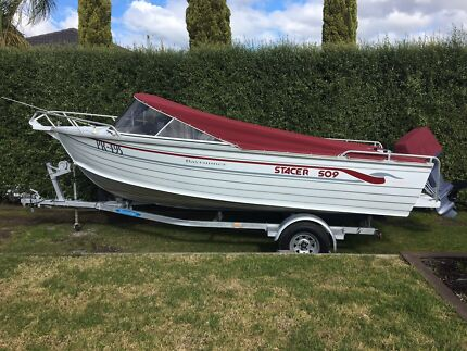 Stacer 509 in excellent condition