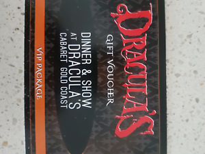 Dracula's Gold Coast 2 VIP package tickets dinner & show Eumundi Noosa Area Preview