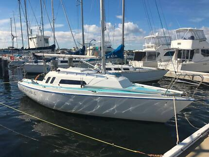 Naturaliste 27 sailing yacht