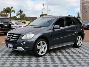 2010 Mercedes-Benz ML300 CDI W164 MY10 BlueEFFICIENCY Grey 7 Speed Sports Automatic Wagon Alfred Cove Melville Area Preview