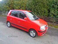 2007 Hyundai Amica CDX, 1.1 petrol, low mileage, 12 months MOT