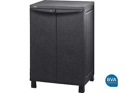 Online Veiling Keter Mini Patio Shed Rattan43511
