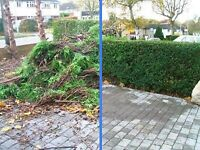 Garden waste and rubbish removal
