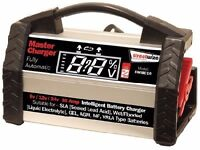 6v/12v/24v 10Amp HD Intelligent Fully Automatic Battery Charger