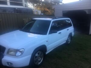 2002 Subaru Forester limited Waratah West Newcastle Area Preview