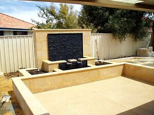 Landscaping & limestone walls Perth Perth City Area Preview