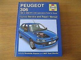 Haynes Service and repair manual for sale for Peugeot 306