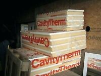 Xtratherm foiled insulation Cavity Therm Full Fill Wall 100mm