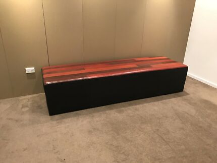 Leather ottoman / couch  commercial quality Coolaroo Hume Area Preview