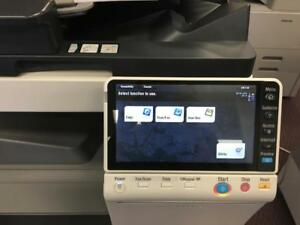 Konica Minolta Bizhub C224 C224e Color Copier Printer Scanner Photocopier Copy Machine LEASE BUY colour Copiers Printers