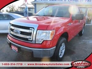 2013 Ford F-150 LOADED XLT MODEL 6 PASSENGER 4X4.. EXT-CAB.. SHO
