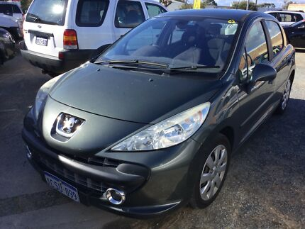2008 Peugeot 207 auto Hatchback low klms  FREE 1 YEAR WARRANTY Silver Sands Mandurah Area Preview