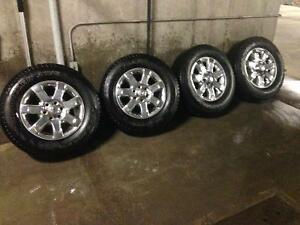 SET OF 2014 Ford F-150 TIRES AND RIMS