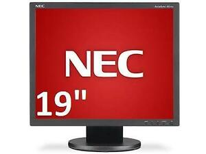 "NEW NEC LED IPS HD MONITOR 19"" AS193iBK 214138949 COMPUTER PC"