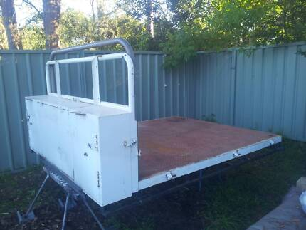 Steel Ute Tray - Heavy duty, canopy, tool boxes & Cab protector
