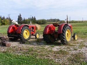Two Massey 44 tractors for the price of one