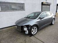Seat Leon FR 1.4 TSI 2013 tech pack Damaged Repairable