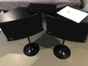 Bose 901 Gen VI 2 Speakers, 1 equalizer and 2 speaker stands
