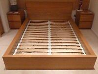Ikea Malm double bed 140x200cm