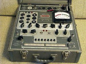 Vacuum Tube Testing & Matching Stark 9-66 TESTER NOT FOR SALE