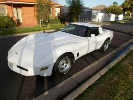 1980 Chevrolet Corvette, auto, T-tops, 350 Chev., one owner, A/C. Coburg Moreland Area Preview