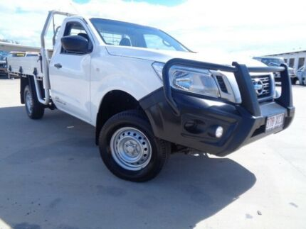 2015 Nissan Navara D23 DX White 6 Speed Manual Cab Chassis