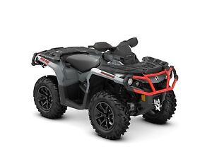 2018 Can-Am Outlander xt 650 Brushed Aluminum  Can-Am Red