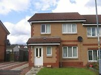 3 Bedroom Semi Detached House to let in small Private Estate in Coatbridge