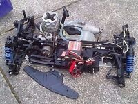 WANTED RC NITRO OR ELETRIC CAR - NON WORKING OR WORKING