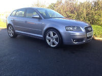 Audi A3 2008 1.4 TFSI Sport 5 Door Manual with Bose, Nav Plus, S-line 18inch wheels and more