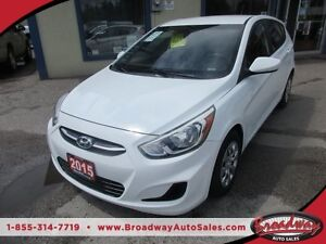 2015 Hyundai Accent LOADED GLS - HATCH EDITION 5 PASSENGER 1.6L