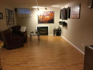 All inclusive full basement ,two bedrooms ,own bathroom
