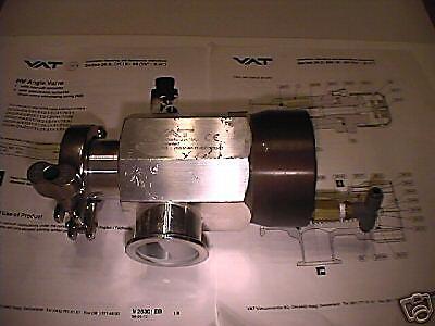 Vat Angle Vacuum Valve Nw40 26332-ka11 Aluminum Pneumatic