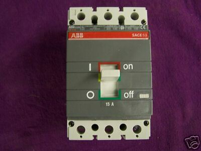 ABB S3NQ015TW Circuit Breaker- NEW