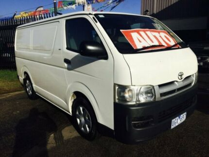 2006 Toyota Hiace TRH201R MY07 LWB 4 Speed Automatic Van