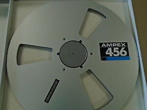 "Ampex Metal Aluminum Take Up Reel &  Box for 1/2"" tape - no tape"