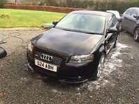 A3 Tdi S Line 170, low miles, service history, well looked after car