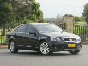 2010 Holden Caprice WM MY10 Black 6 Speed Sports Automatic Sedan Blair Athol Port Adelaide Area Preview