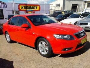 2011 Ford Falcon FG XT Red 6 Speed Sports Automatic Sedan North St Marys Penrith Area Preview