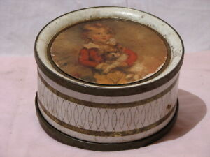 Vintage collectable cookie tin