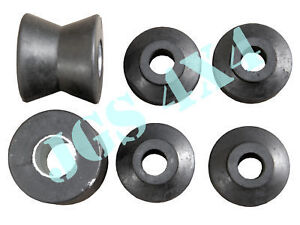 LAND ROVER DISCOVERY 1 1994-1998 REAR SHOCK ABSORBER RUBBER BUSH KIT