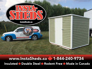 Fully Insulated Sheds