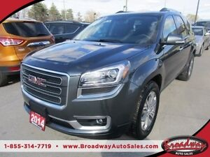 2014 GMC Acadia LOADED SLT MODEL 7 PASSENGER 3.6L - V6.. CAPTAIN