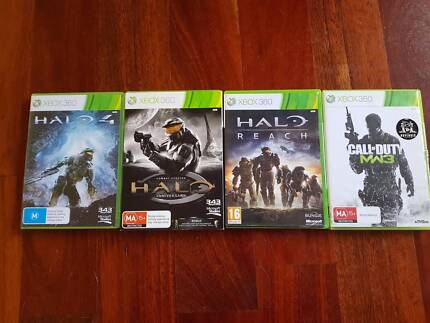 **LOOK!!*** Job Lot Halo and Call of Duty Action Games