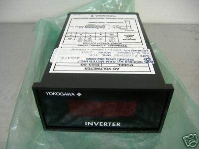 Yokogawa 2353 2351 Digital Ac Voltmeter New Condition No Box