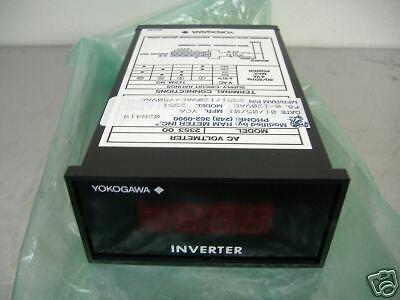 Yokogawa 2353 2351 Digital Ac Voltmeter New Condition No Box