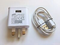 SAMSUNG ORIGINAL UK AC ADAPTER CHARGER & CABLE, 5.3V, 2.0A, GALAXY NOTE, S5 ETC